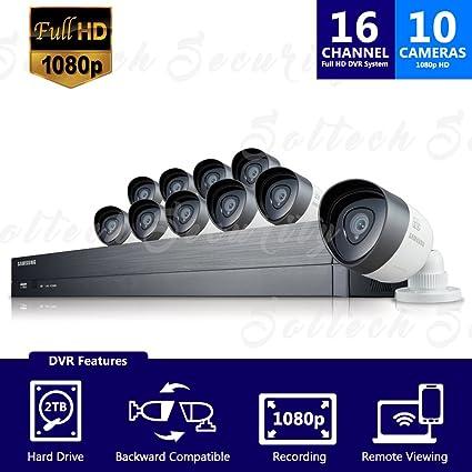 c1029b225ce Amazon.com   Samsung SDH-C75100BN 16 Channel 1080p Full HD DVR Video ...