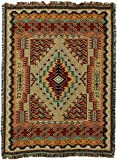 Pure Country Southwest Salmon Blanket Tapestry Throw
