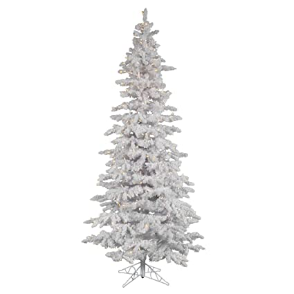 96b26fb31a1 Image Unavailable. Image not available for. Color  Vickerman Pre-Lit Slim  Tree ...