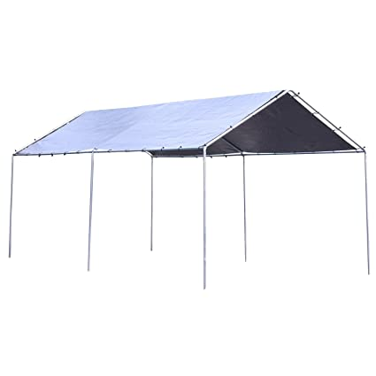 best service 93155 cb943 12x20 heavy duty all purpose canopy section fea market or cart port (free  shipping)