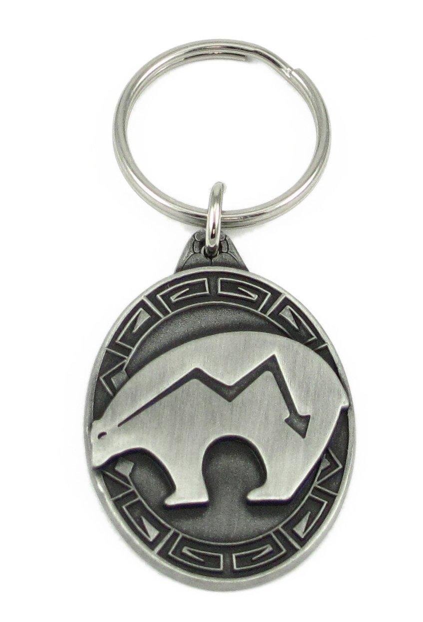 Siskiyou Southwestern Bear Fetish Antiqued Key Chain Siskiyou Automotive KR173