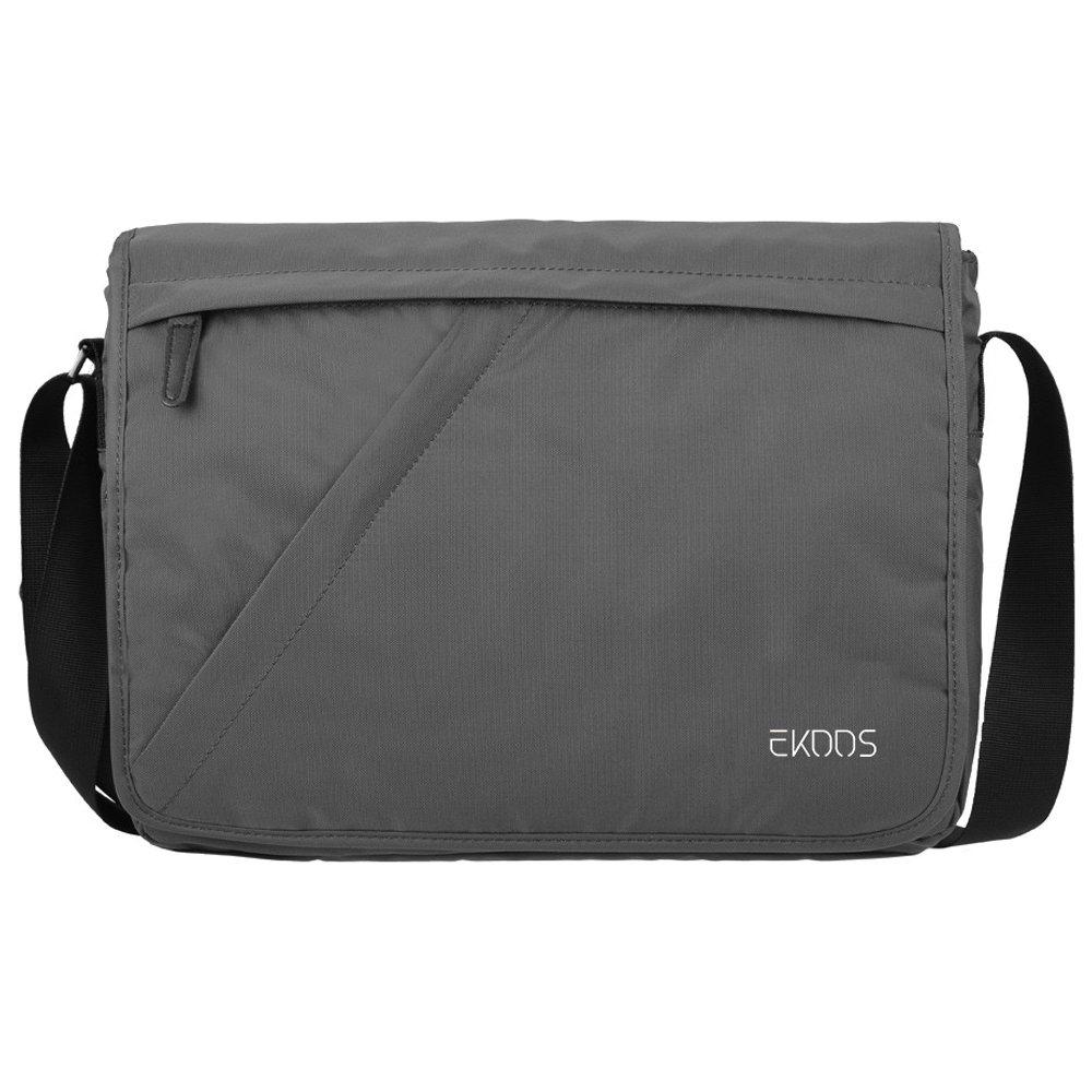 Laptop Messenger Bag ,EKOOS Laptop Shoulder Bag Water Resistant Briefcase Crossbody Day Bag for Work University Travel Sport 14 inch