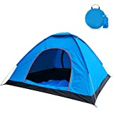 2-Person Camping Tent with Carry Bag, Jhua Lightweight Waterproof Dome Automatic Pop-Up Outdoor Sports Tent Sunscreen…