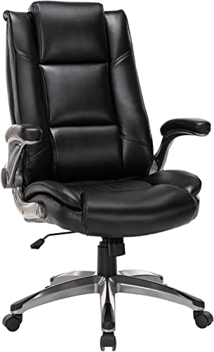 Office Chair High Back Leather Executive Computer Desk Chair