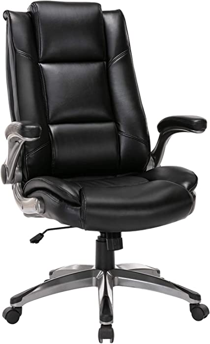 Top 9 Executive Leather Office Chair Flip Up Arms