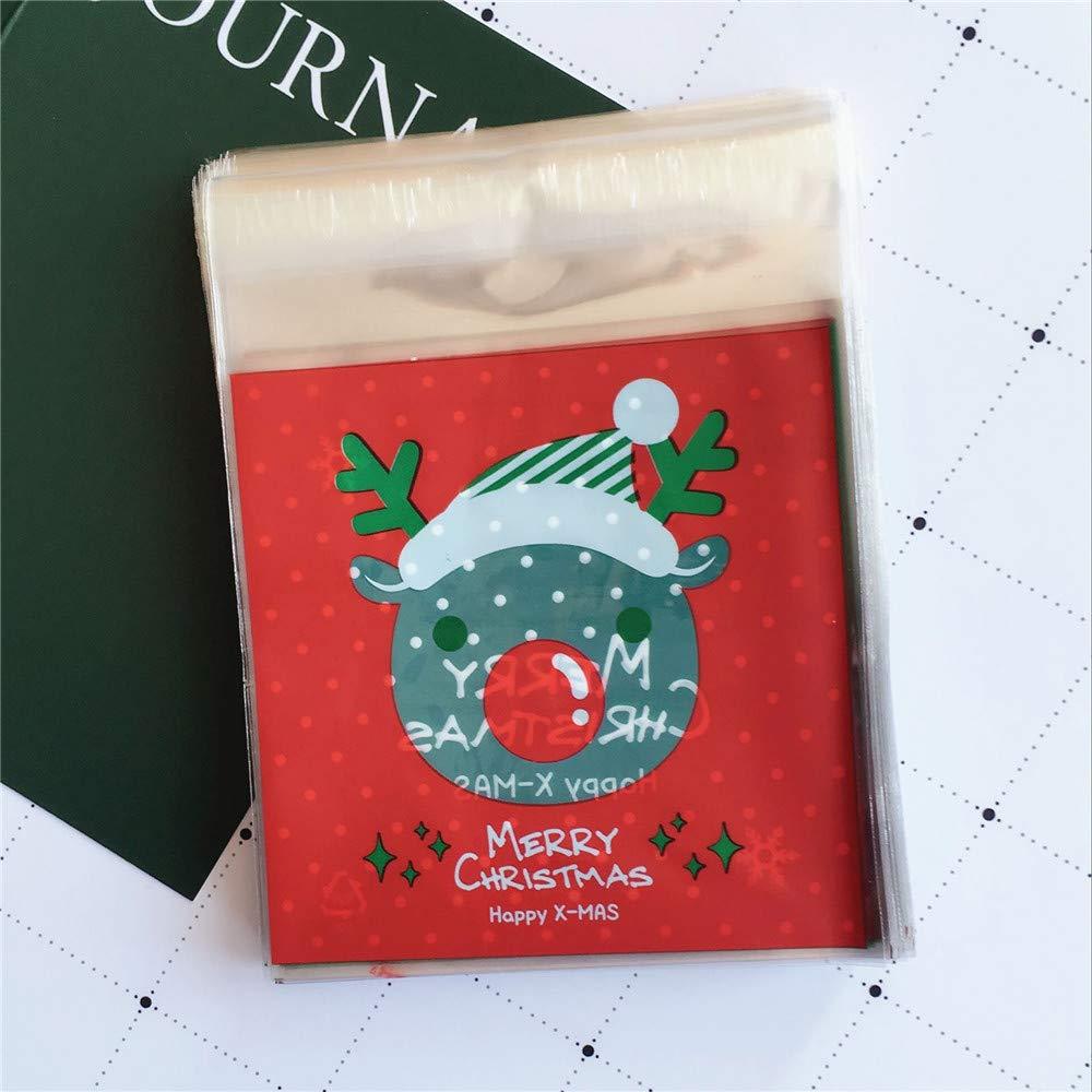 Kangqi regali di natale pacchetto regalo biscotto natalizio di circa