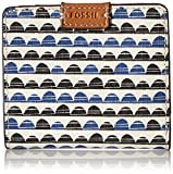 Image of Fossil Emma Rfid Mini Wallet-blue Print Wallet
