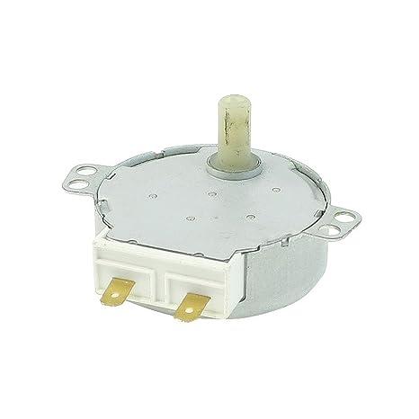 Motor Sincronico - SODIAL(R) CW/CCW 4W 5 RPM Horno Microondas Plato