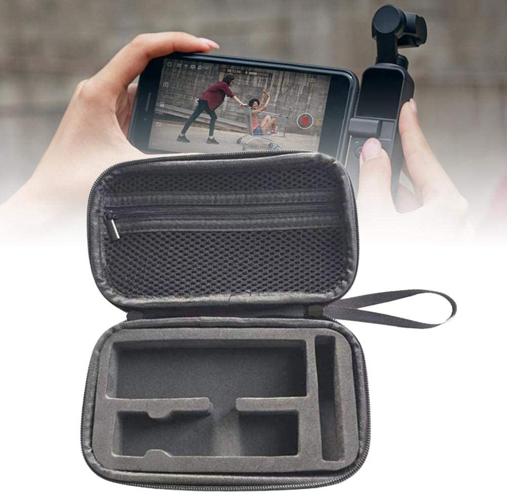 Lamptti OSMO Pocket Storage Case Bag,EVA Mini Portable Carry Case Portable Storage Organizer Handheld Gimbal Accessories for DJI OSMO Pocket