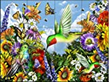 Ceramic Tile Mural - Save the Bees - by Lori Schory - Kitchen backsplash / Bathroom shower