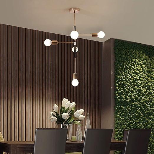Moderna lámpara LED de techo Henley para salón, lámpara de ...