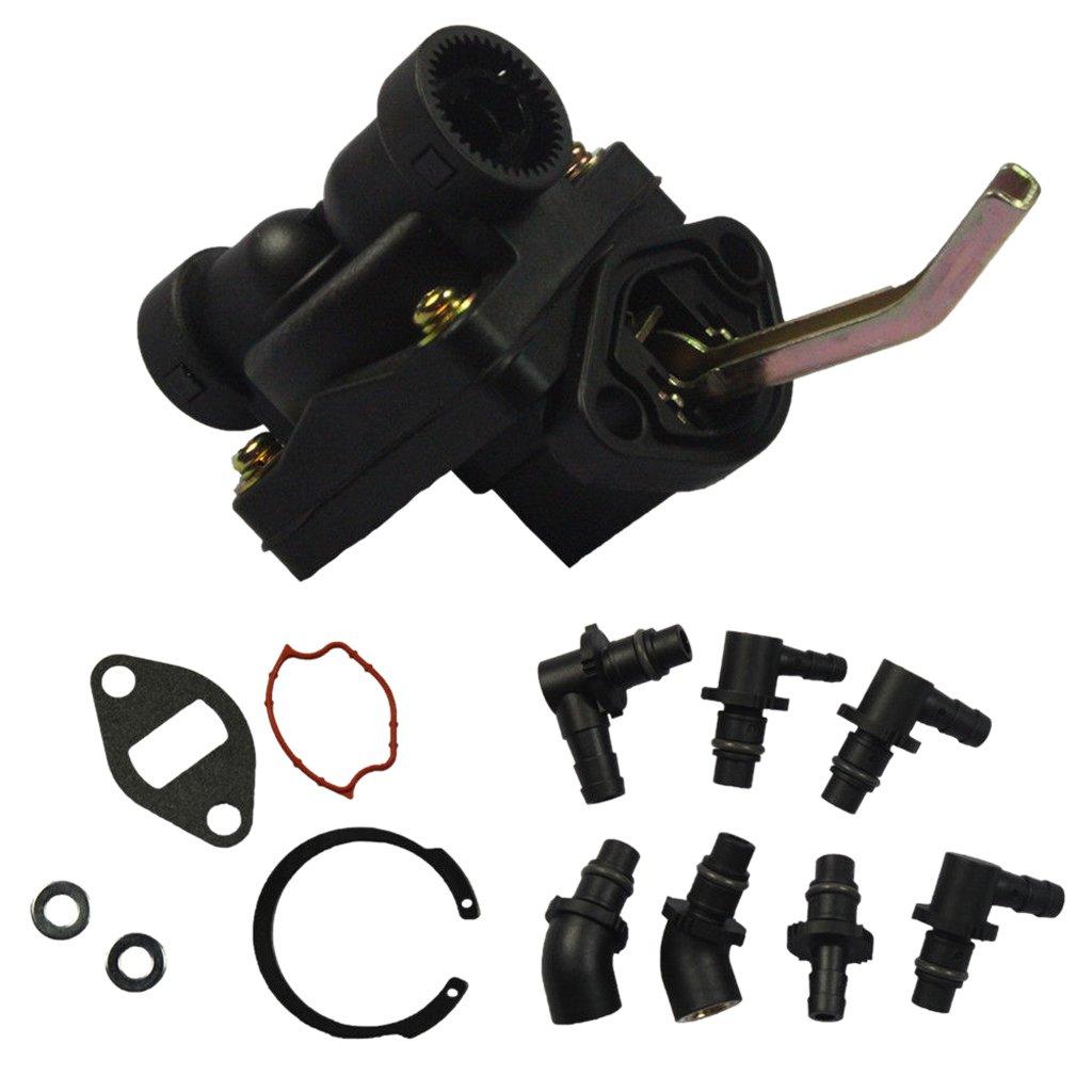 Homyl Car Fuel Pump for Kohler Engine M18/M20/MV16/MV18/MV20/KT17 Magnum KT Series
