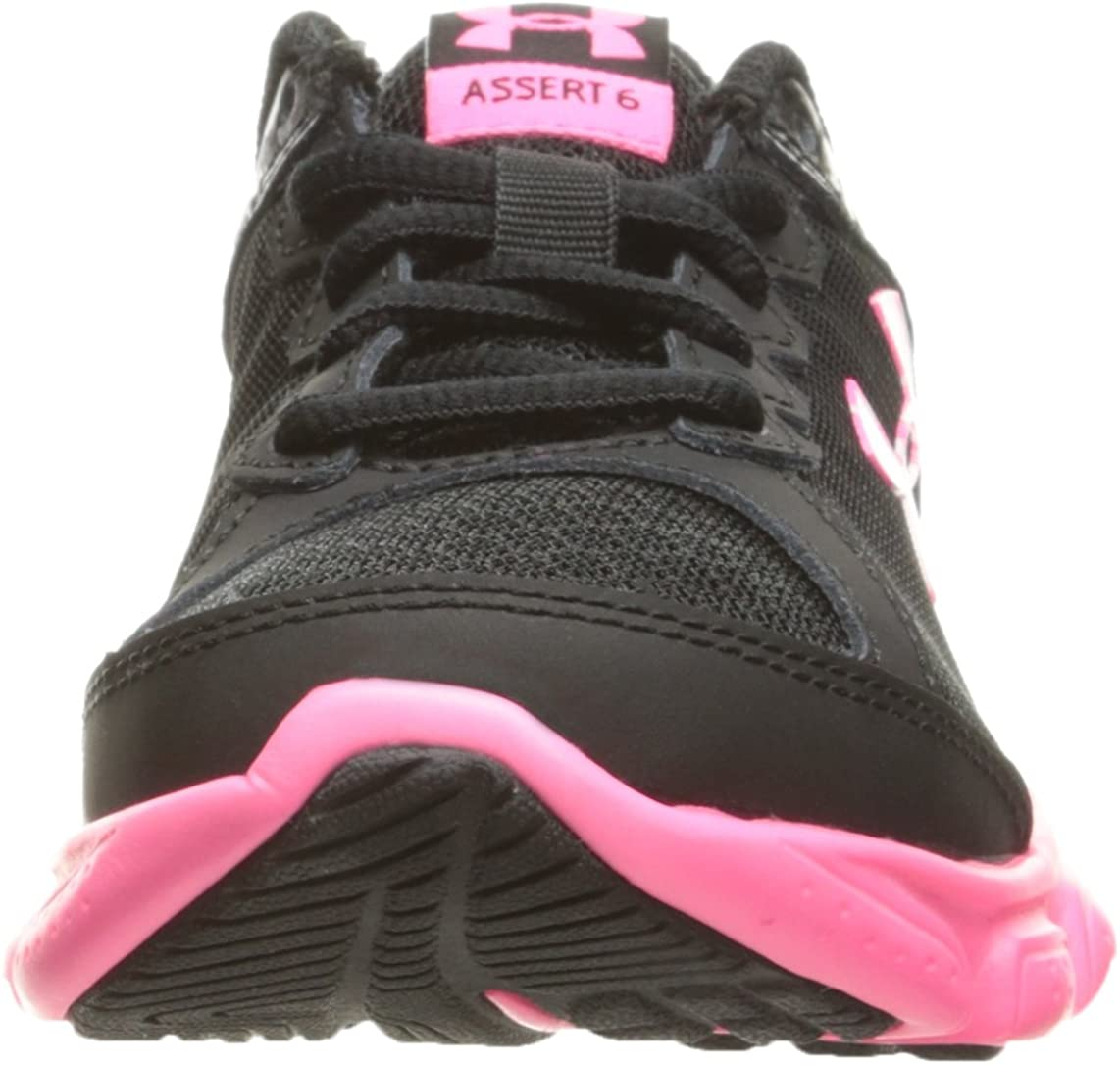 Under Armour Girls Pre School Assert 6 Sneaker