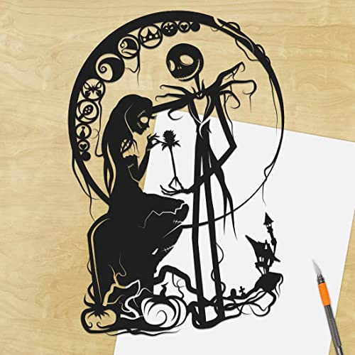 Tim Burton Nightmare Before Christmas Artwork.Amazon Com Nightmare Before Christmas Jack Skellington And