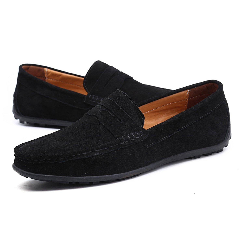 Nomioce - Sandalias con Cuña Hombre 37.5 EU=40 EU=25 cm|Negro