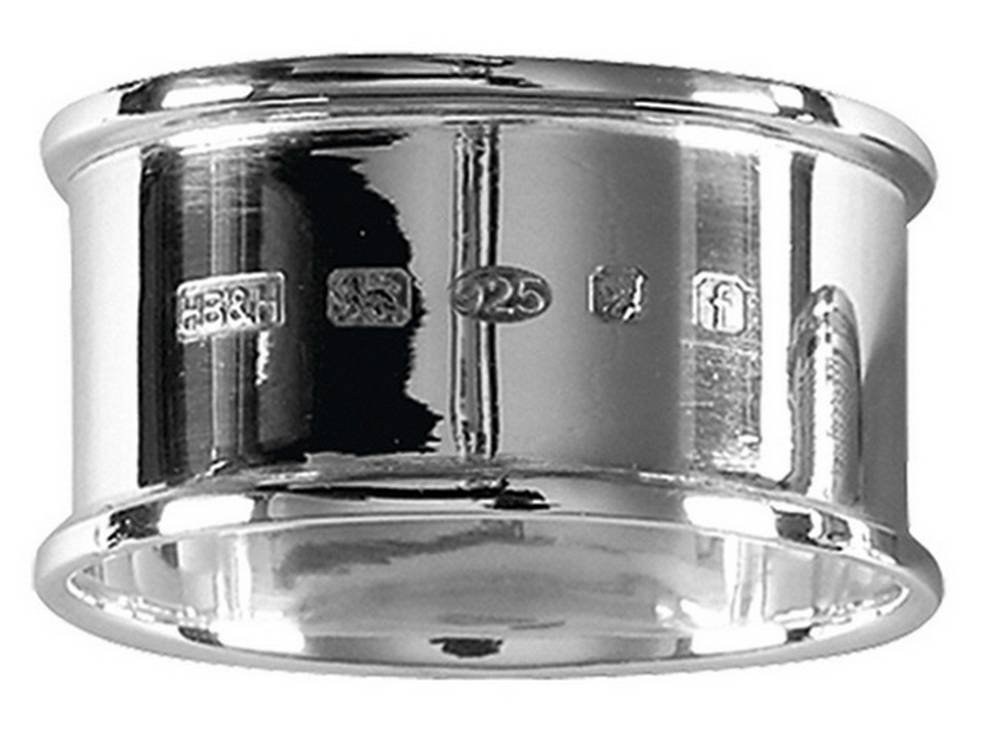 Silver Hallmark Display Napkin Ring by Orton West