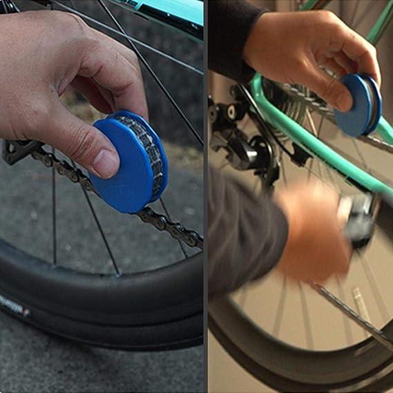 Lubricador de cadena, rodillo de bicicleta lubricante para cadena ...