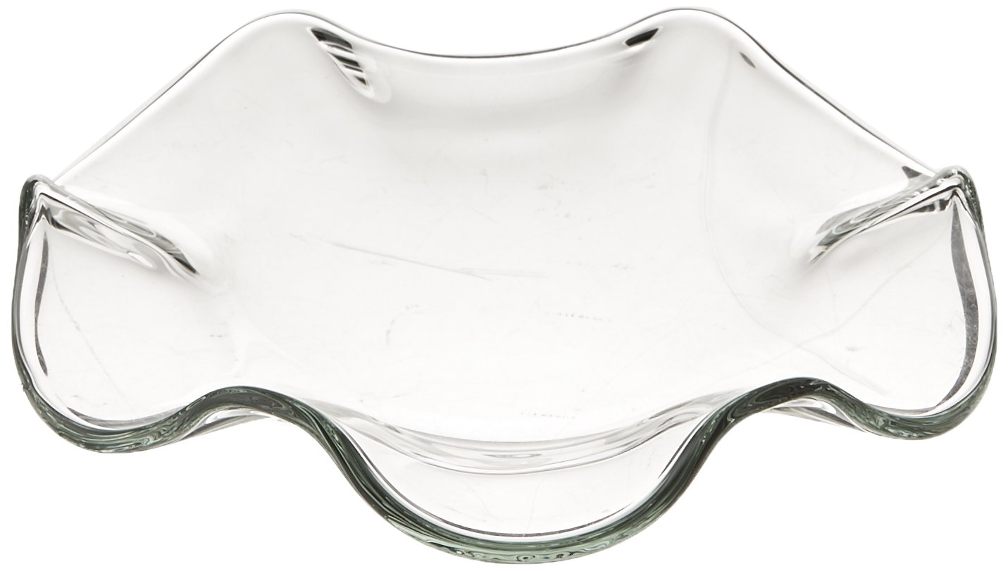StealStreet SS-A-55031 Large Aroma Oil Burner Replacement Saucer, Clear