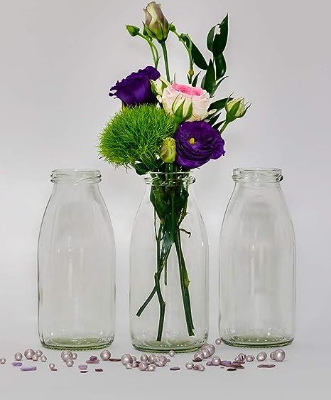 casa-vetro - 24 Botellas de Cristal en Estilo mesa de boda florero ...