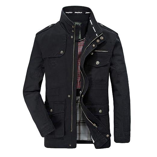 Amazon.com: Mens Coat Winter Plus Size Big Sale!Jiayit Multi-Pocket Long Sleeve Jacket Coat Outwear: Clothing