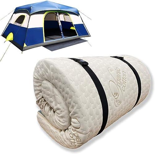 Reviewed: Foamma 6″ x 28″ x 75″ Memory Foam Roll-Up Camping Mattress