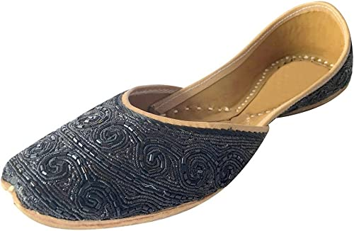 Amazon Com Step N Style Indian Shoes Punjabi Jutti Bridal Shoes