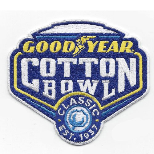 Good Year Cotton Bowl Game Jersey Patch Ohio State Usc  2017