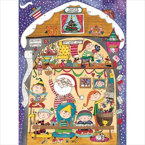 Rachel Ellen Santa's Workshop Advent Calendar by Rachel Ellen Designs