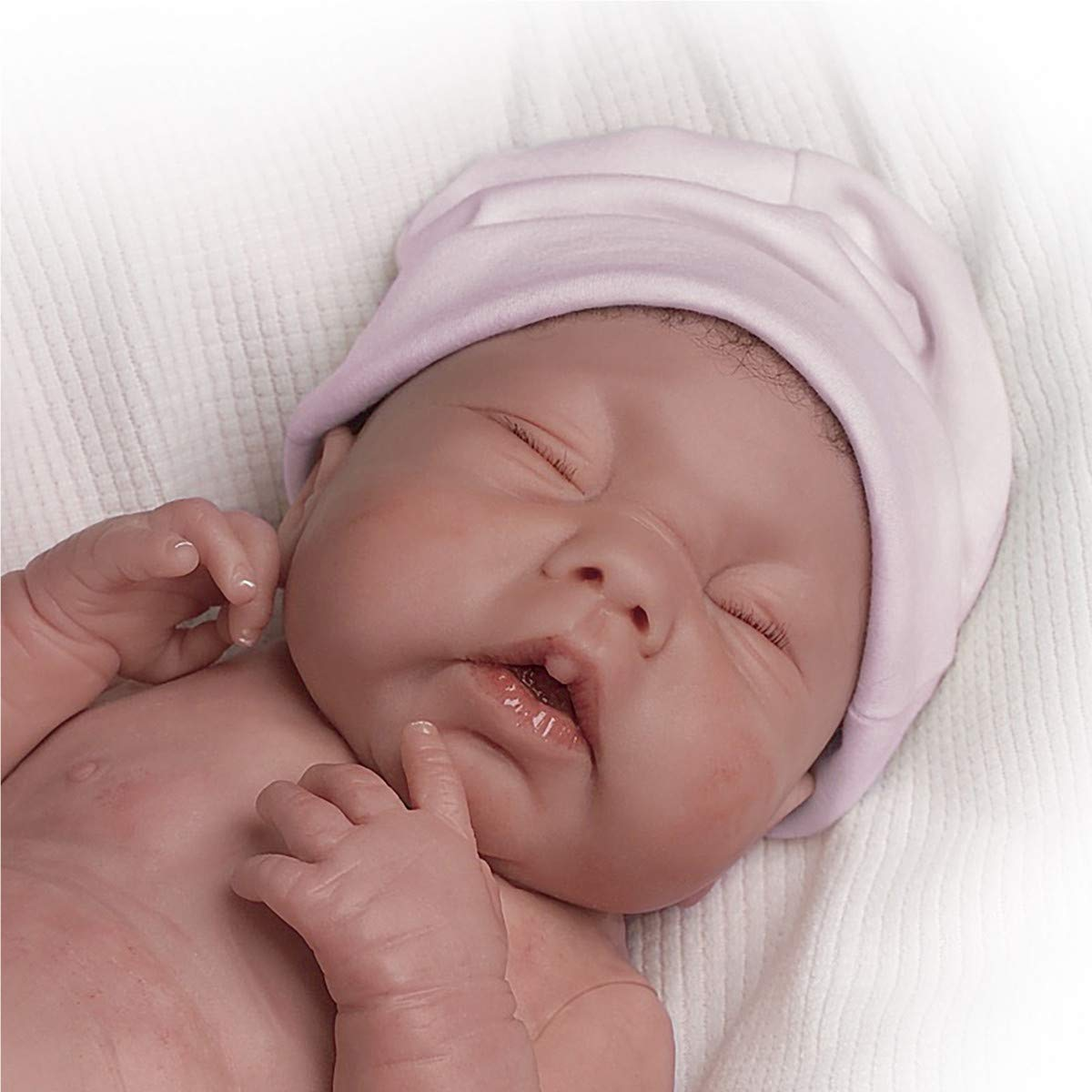 db72acb04 Amazon.com: May God Bless You, Little Grace Anatomically Correct So Truly  Real® Lifelike, Realistic Newborn Baby Doll 15.5-inches by The Ashton-Drake  ...