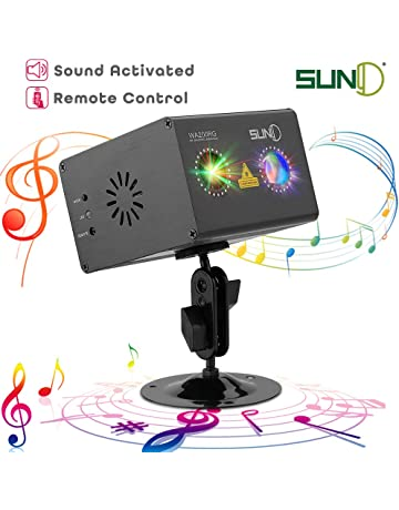 Laser Projector SUNY RG Gobos Projector Full Color Galaxy Projector LED Projection Aurora Laser Light Show