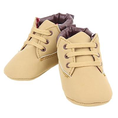 ENFANTS bébé Infant Toddler Bottes chaud Prewalker anti-dérapant Chaussures à semelle souple