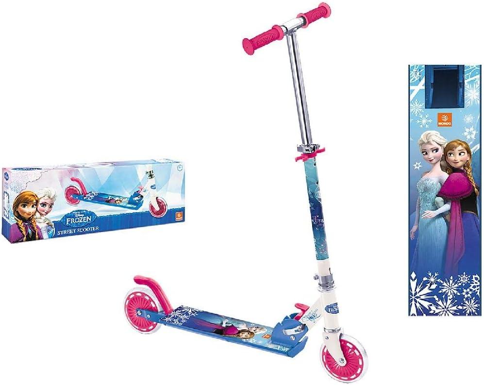 Mondo Toys Frozen 28221, Patinete de Aluminio con 2 Ruedas