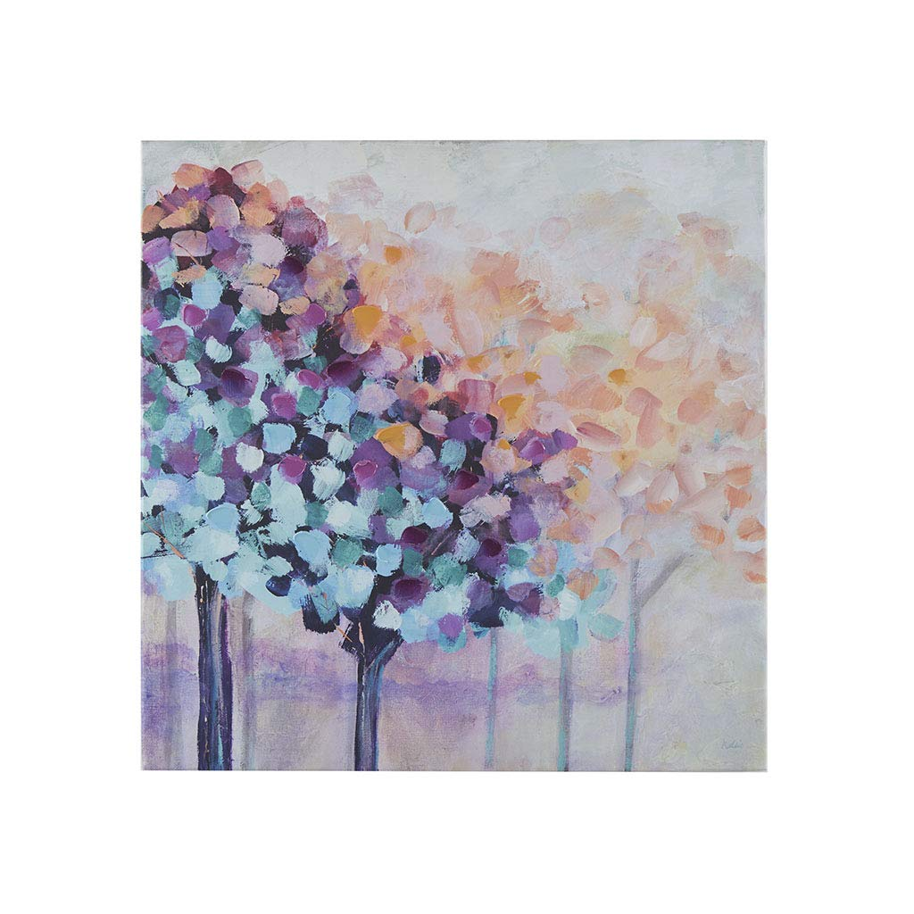 Madison Park Magic Forest Wall Art - Hand Brush Embellished Painting Modern Abstract Home Décor Canvas Living Room Accent, Multi by Madison Park