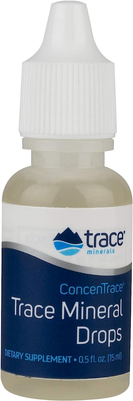 ConcenTrace Trace Mineral Drops Trace Minerals 1/2 oz Liquid: Health & Personal Care