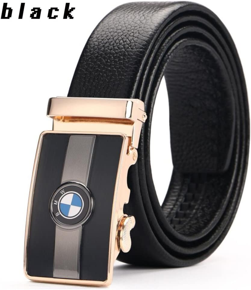 XUEXUE Mens Belt,Automatic Buckle Belt Business Work Active Basic Leather,Comfortable Adjustable Casual Formal Belts,Stylish Fashion Breathable Cowboy Wear /& Work Clothes Uniform Easy