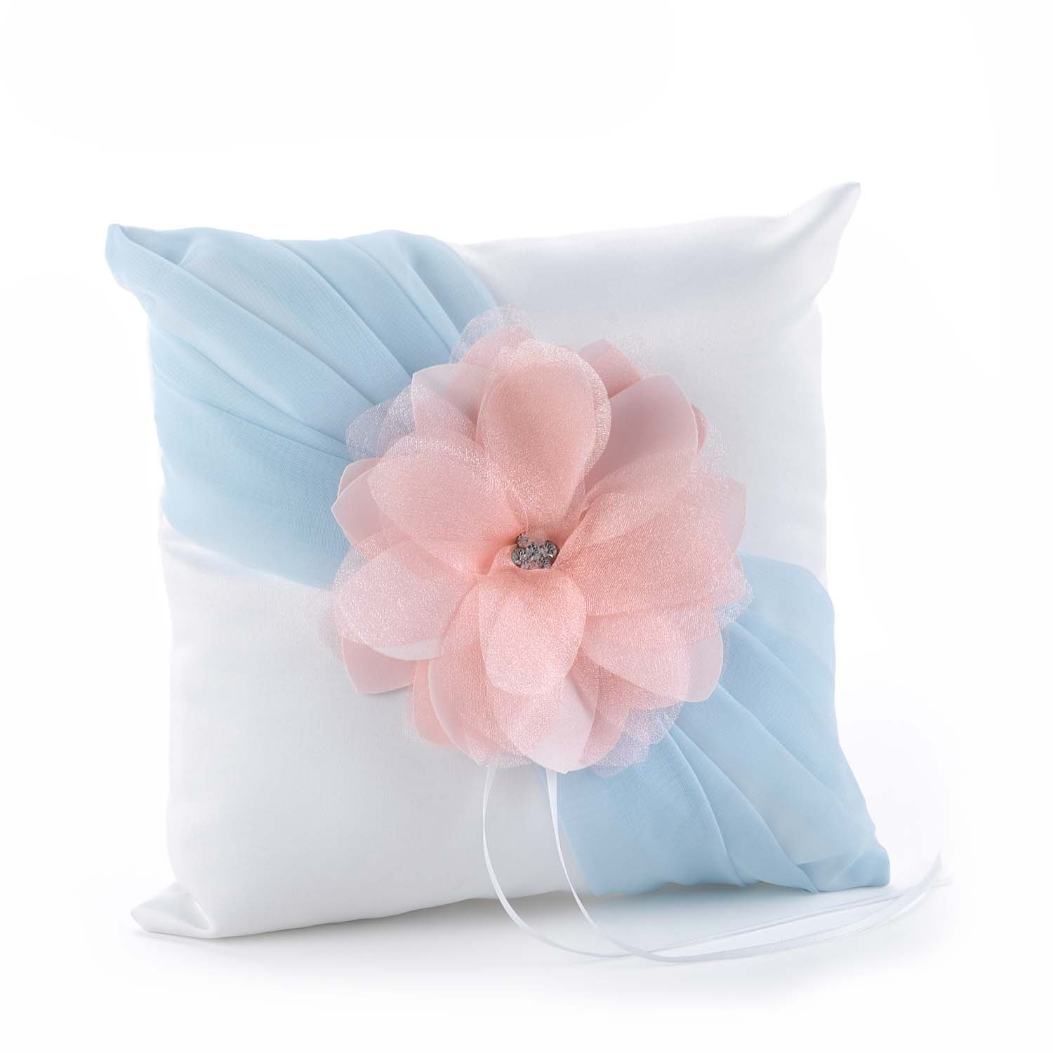 Hortense B. Hewitt Wedding Accessories Pretty Pastels Ring Pillow