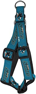 product image for All Star Dogs NHL Unisex NHL San Jose Sharks Dog Harness
