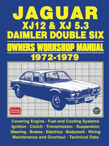jaguar-xj12-xj-53-daimler-double-six-owners-workshop-manual-1972-1979