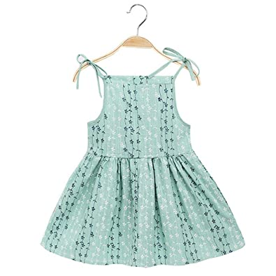 e0284ac80 Janly 🍀for 1-6 Years Old Girls Kids Dress 🍀Toddler Kid Baby Girl ...