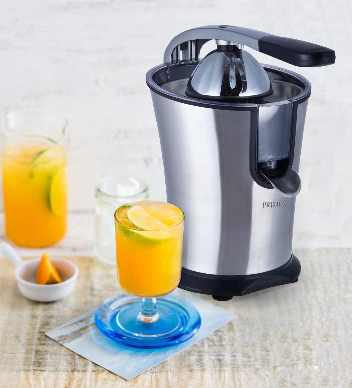 PRIXTON - Exprimidor Electrico de Naranjas Automatico, Exprime ...