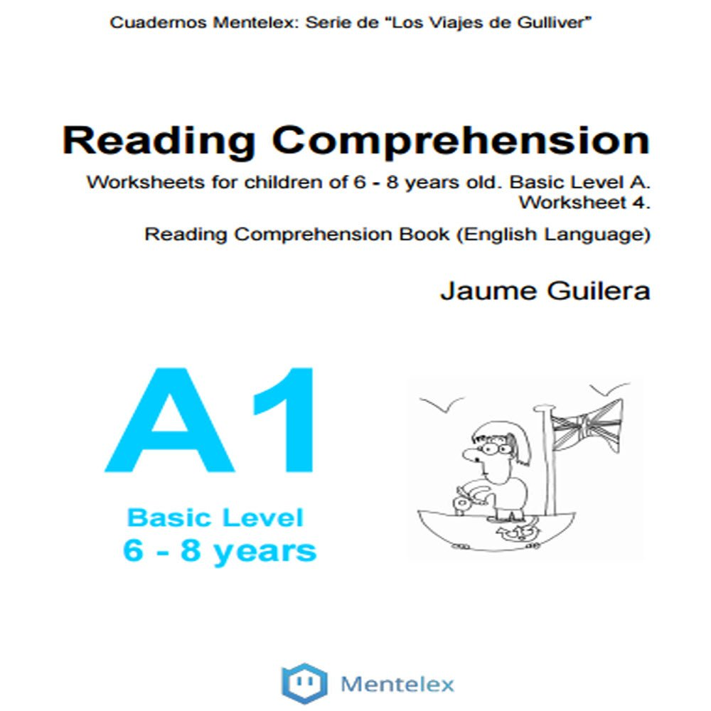 - Reading Comprehension Worksheets For Children Of 6 - 8 Years Old