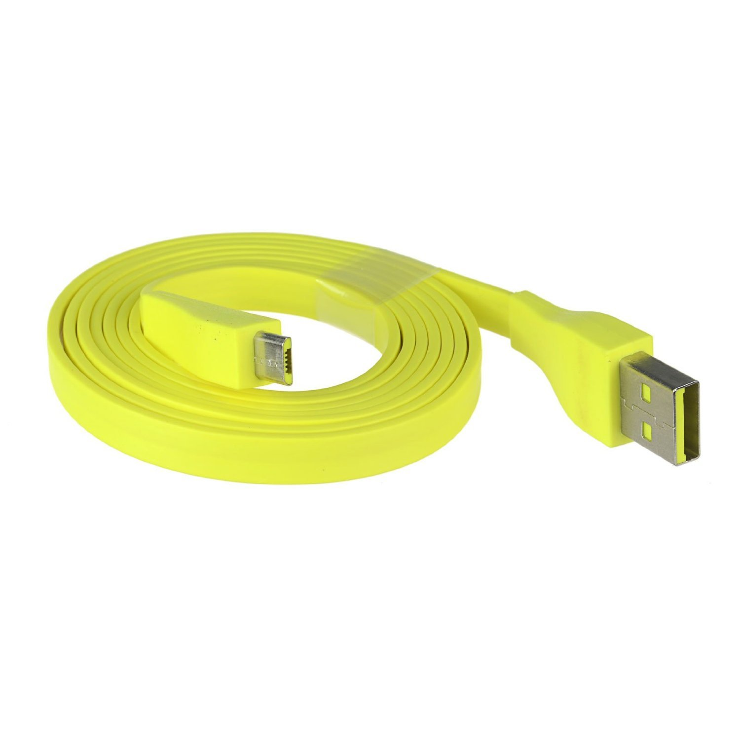Logitech UE BOOM Bluetooth Speaker Micro USB Cable 22AWG 1.2M 4ft Max 2.5A Yellow