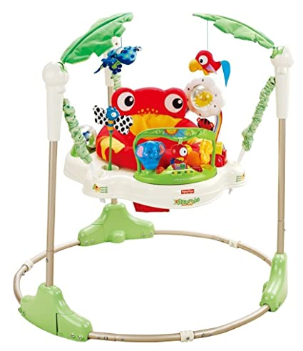 a1dcecb8b005 Amazon.com   FISHER PRICE RAINFOREST JUMPEROO EXERSAUCER MUSICAL ...