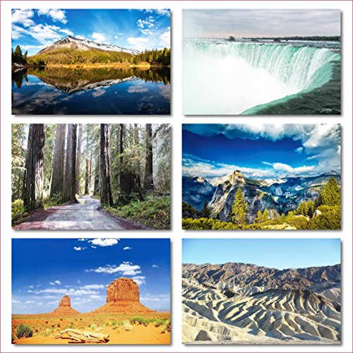US National Parks postcards pack - Set of 25 individual postcards featuring America's national parks and natural landmarks Photo #3