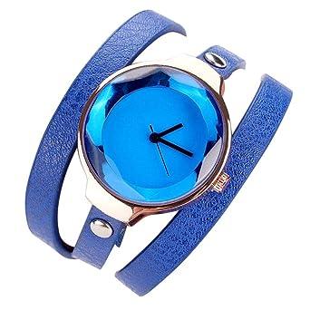 meilleur grossiste couleur attrayante découvrir les dernières tendances Montre Femme Angelof montre bracelet cuir quartz fille ...