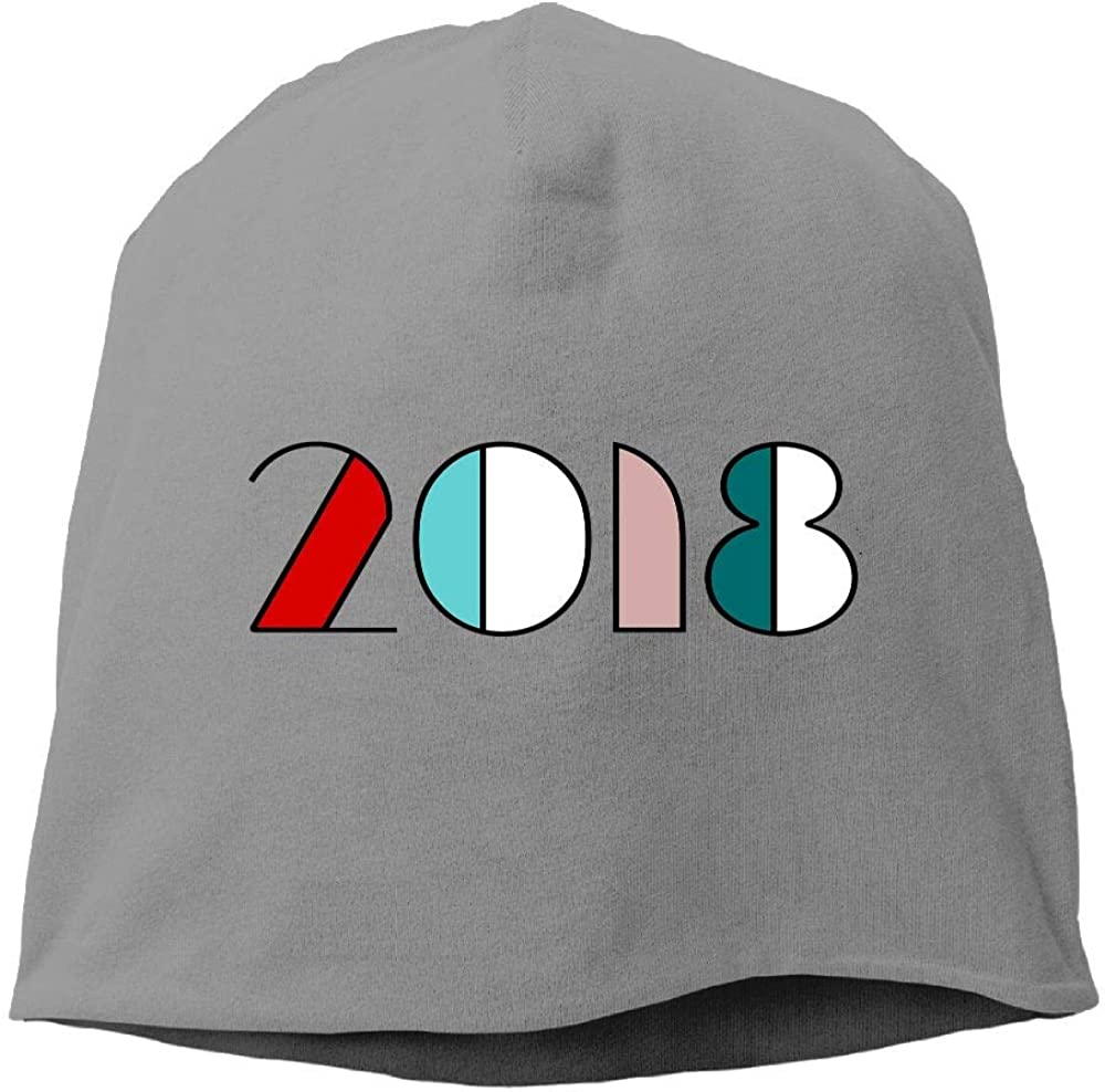 Janeither Headscarf 2018 New Year Hip-Hop Knitted Hat for Mens Womens Fashion Beanie Cap