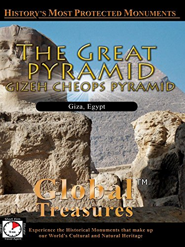 Global Treasures - The Great Pyramid - Gizeh Cheops Pyramid, Egypt