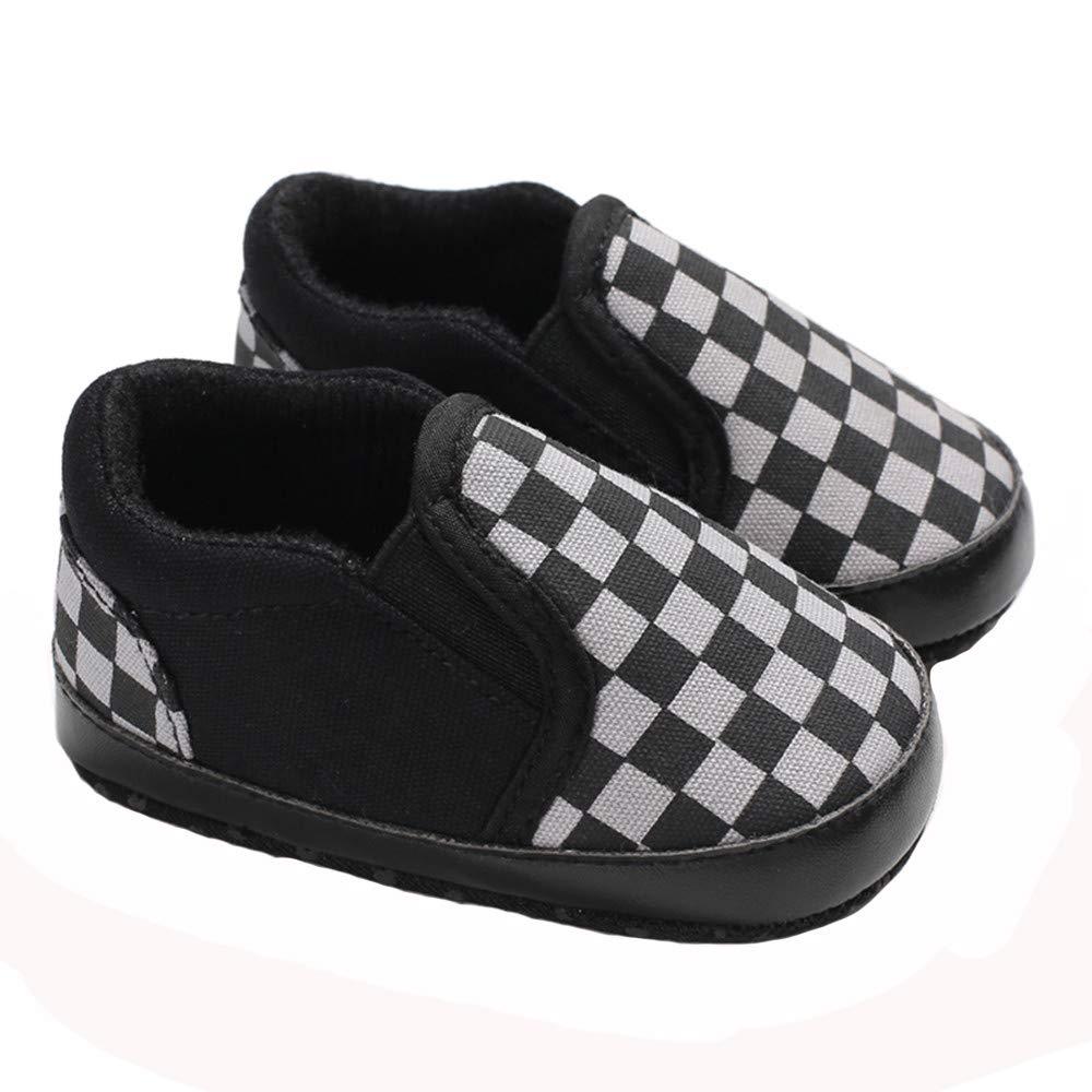 Babelvit Infant Baby Boy Girl Canvas Sneakers Soft Sole Anti-Slip Star High Top Newborn First Walker Shoes