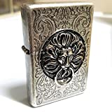 Zippo Lion Gate SI Lighter / Genuine Authentic / Original Packing (6 Flints set Free Gift)