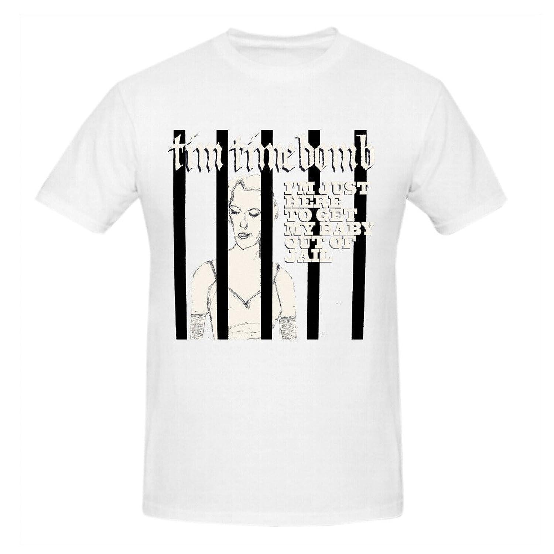 Samaer Tim Timebomb Im Just Here Men Tee Shirts